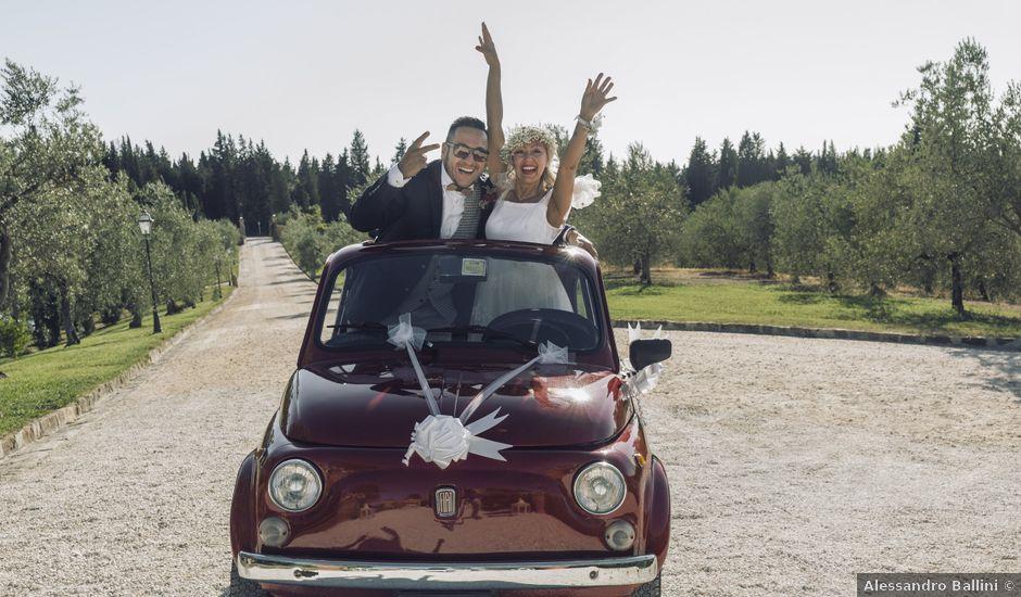 Il matrimonio di Lorenzo e Serena a Montespertoli, Firenze