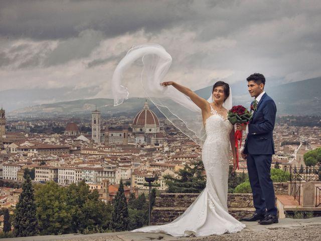 Le nozze di Paola e Juan Carlos