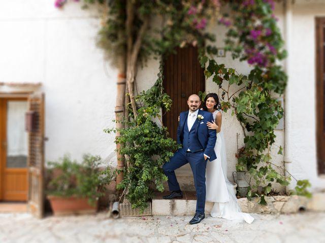 Il matrimonio di Giusi e Francesco a Salemi, Trapani 17