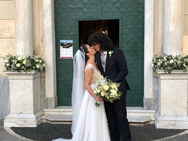 Le nozze di Riccardo Mauri e Giulia Sajni