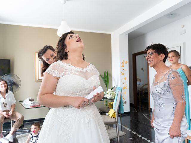 Il matrimonio di Fabio e Marika a Serra Riccò, Genova 13