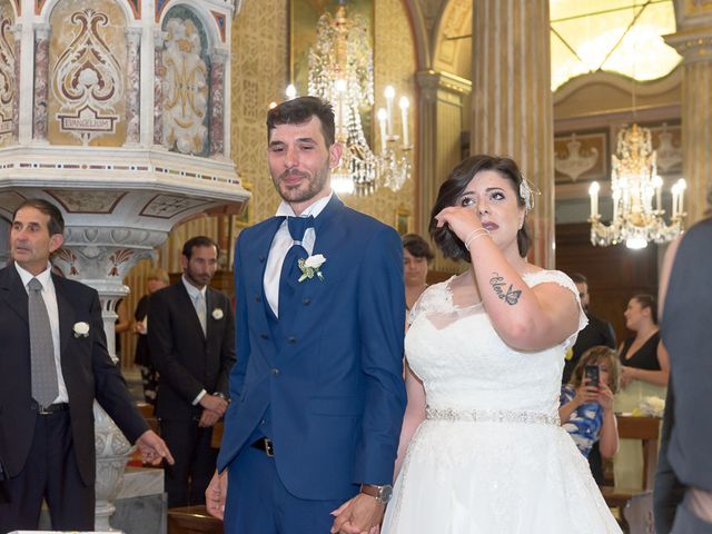 Il matrimonio di Fabio e Marika a Serra Riccò, Genova 14