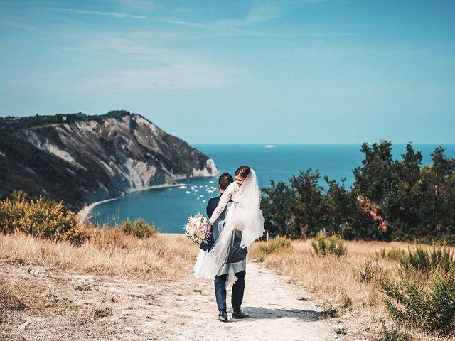 Il matrimonio di Claudia e Michele a Sirolo, Ancona 18
