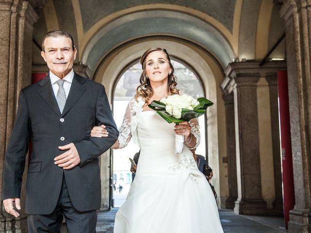 Il matrimonio di Fabrizio e Cherubina a Milano, Milano 10