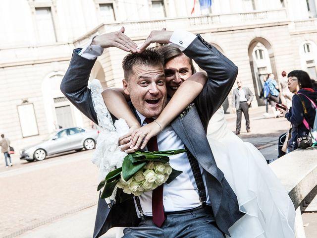 Il matrimonio di Fabrizio e Cherubina a Milano, Milano 24