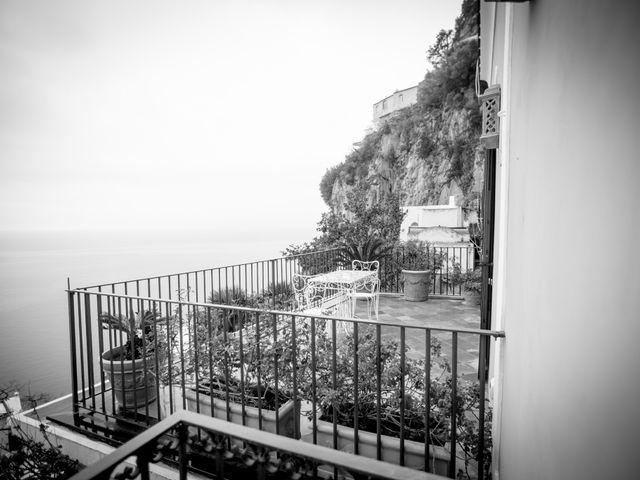 Il matrimonio di Claudio e Floriana a Positano, Salerno 1