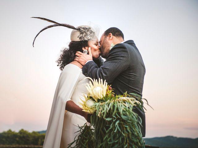 le nozze di Kristy e Weaver