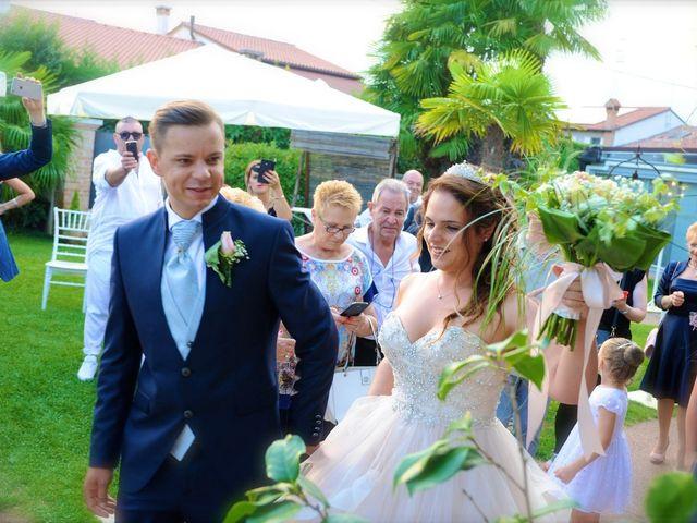 Il matrimonio di Lavdim e Vania a Mirano, Venezia 17