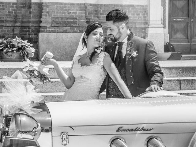 le nozze di Martina e Gaetano