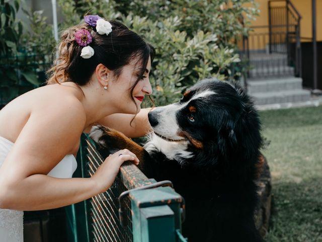 Il matrimonio di Filippo e Daria a Appiano Gentile, Como 27