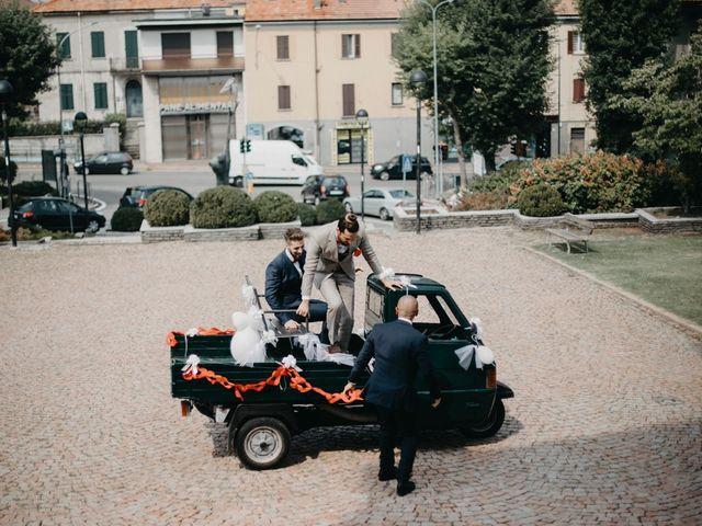 Il matrimonio di Filippo e Daria a Appiano Gentile, Como 32