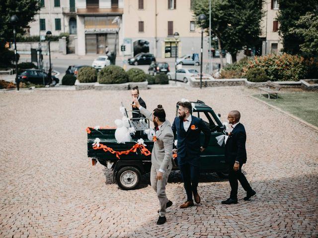 Il matrimonio di Filippo e Daria a Appiano Gentile, Como 33