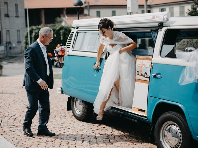 Il matrimonio di Filippo e Daria a Appiano Gentile, Como 36
