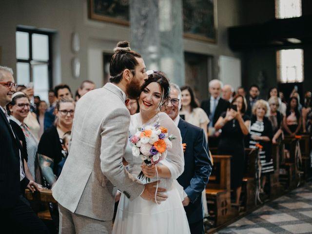Il matrimonio di Filippo e Daria a Appiano Gentile, Como 42