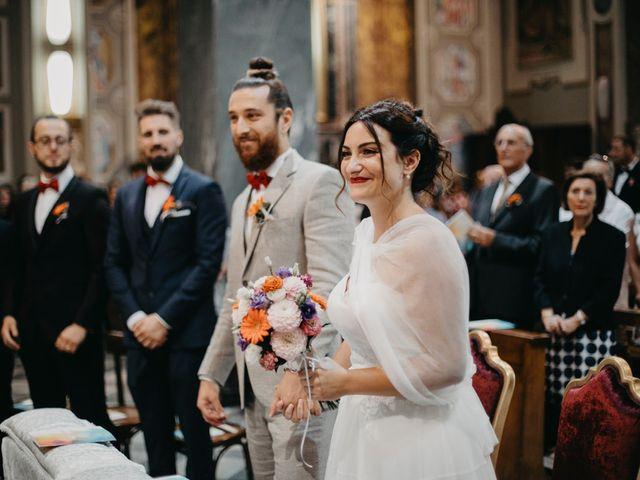 Il matrimonio di Filippo e Daria a Appiano Gentile, Como 43