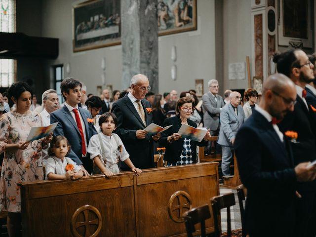 Il matrimonio di Filippo e Daria a Appiano Gentile, Como 47