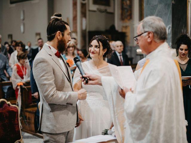 Il matrimonio di Filippo e Daria a Appiano Gentile, Como 49