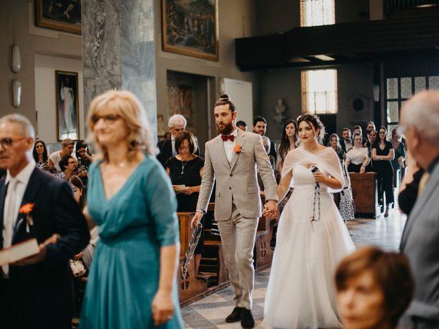 Il matrimonio di Filippo e Daria a Appiano Gentile, Como 56