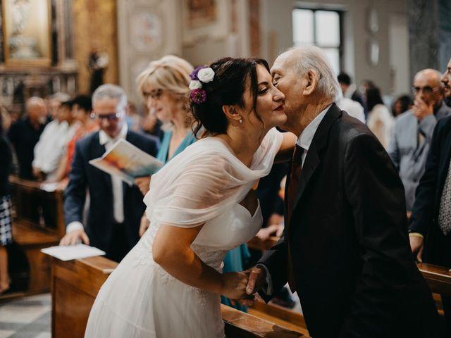 Il matrimonio di Filippo e Daria a Appiano Gentile, Como 57