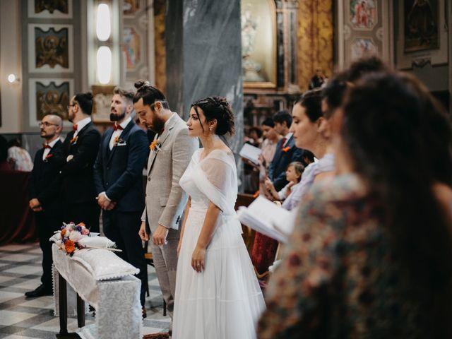 Il matrimonio di Filippo e Daria a Appiano Gentile, Como 59
