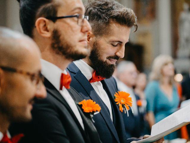 Il matrimonio di Filippo e Daria a Appiano Gentile, Como 64