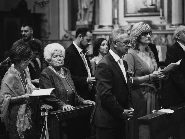 Il matrimonio di Filippo e Daria a Appiano Gentile, Como 65