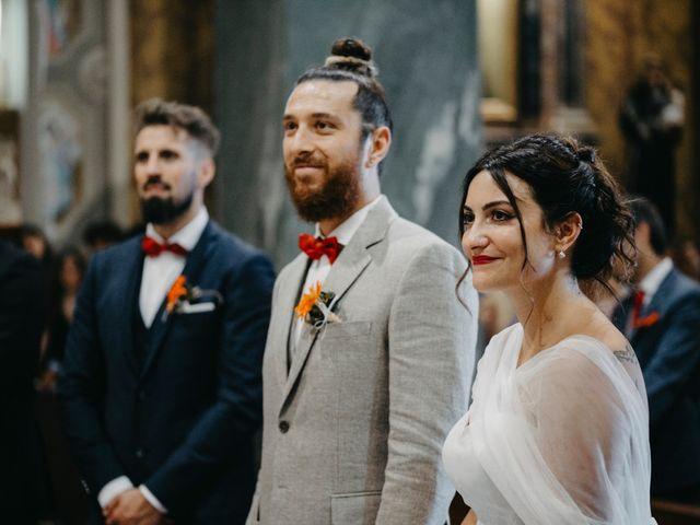 Il matrimonio di Filippo e Daria a Appiano Gentile, Como 74