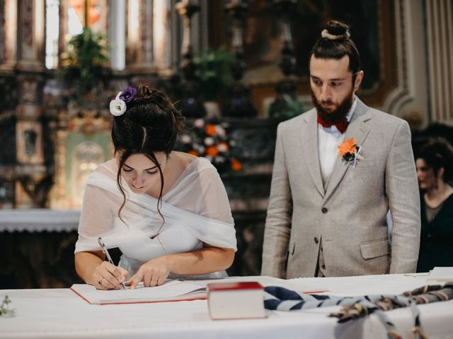 Il matrimonio di Filippo e Daria a Appiano Gentile, Como 75