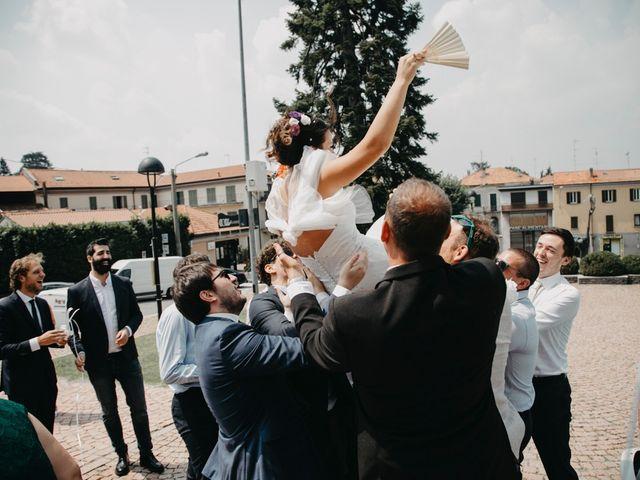 Il matrimonio di Filippo e Daria a Appiano Gentile, Como 86