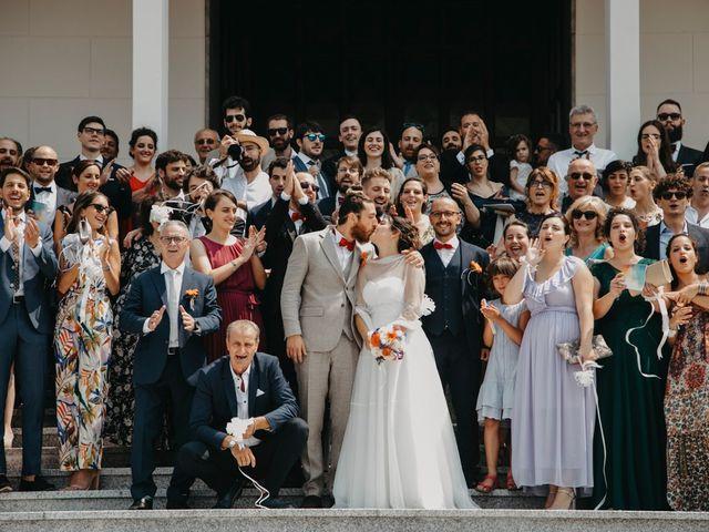 Il matrimonio di Filippo e Daria a Appiano Gentile, Como 87