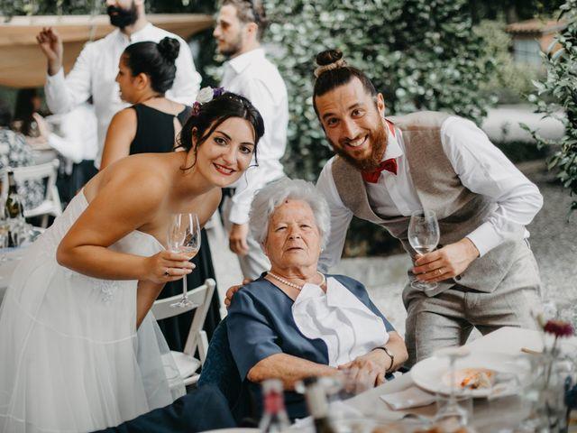 Il matrimonio di Filippo e Daria a Appiano Gentile, Como 105