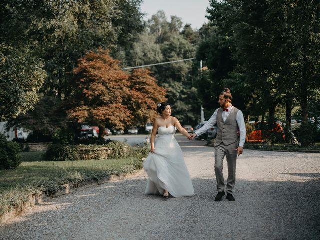 Il matrimonio di Filippo e Daria a Appiano Gentile, Como 137