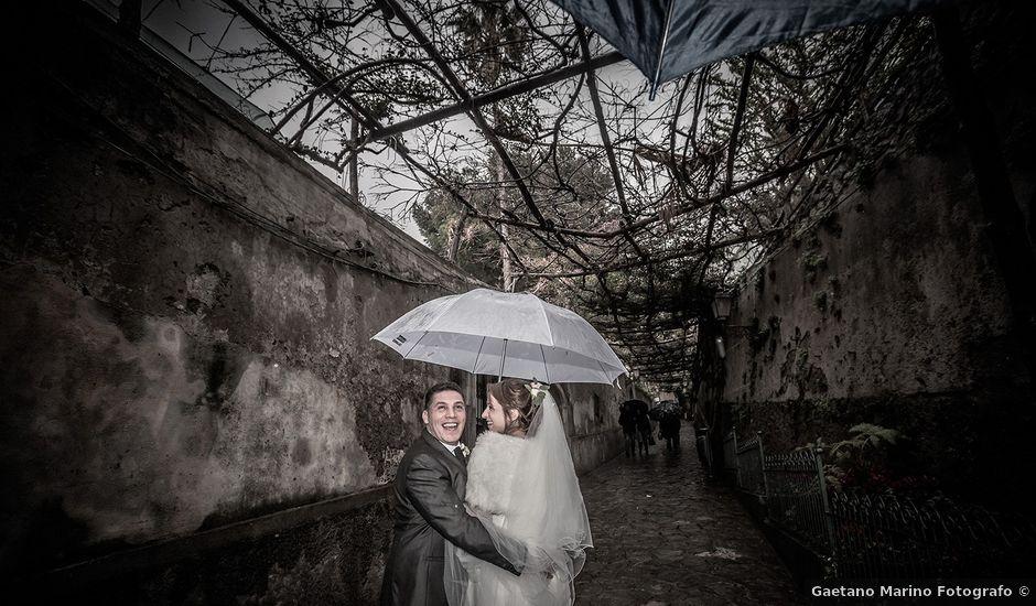 Il matrimonio di Claudio e Floriana a Positano, Salerno