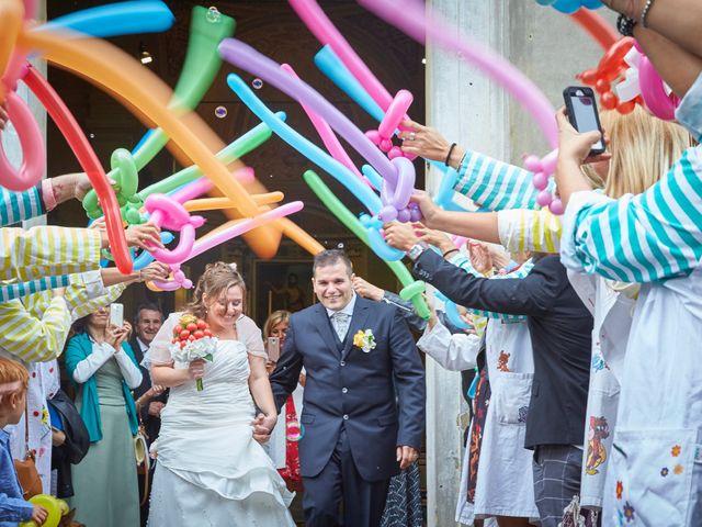 Il matrimonio di Mirko e Silvia a Correggio, Reggio Emilia 17