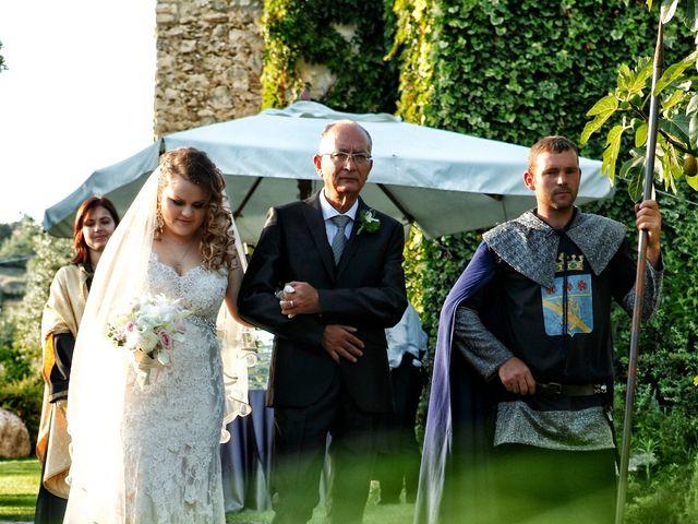 Il matrimonio di Lindim e Anastasia a Casaprota, Rieti 13