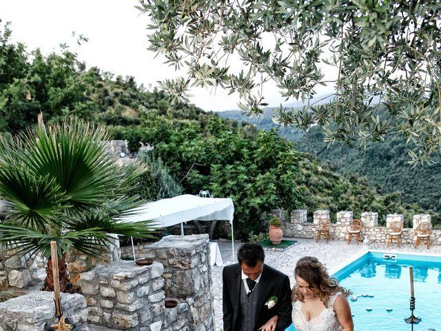 Il matrimonio di Lindim e Anastasia a Casaprota, Rieti 25