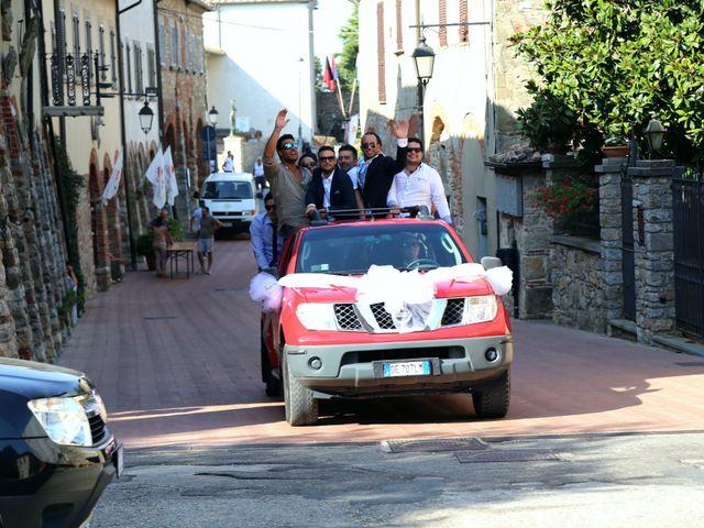 Il matrimonio di Stefano e Veronica a Civitella in Val di Chiana, Arezzo 26