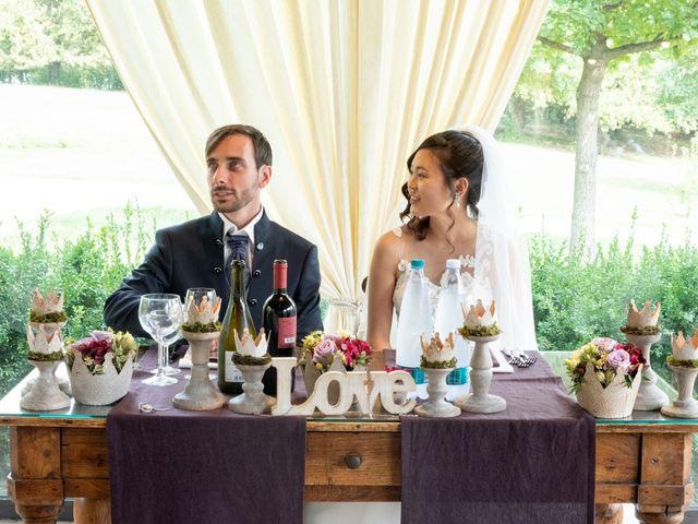 Il matrimonio di Yuriko e Manuel a Castel San Pietro Terme, Bologna 16