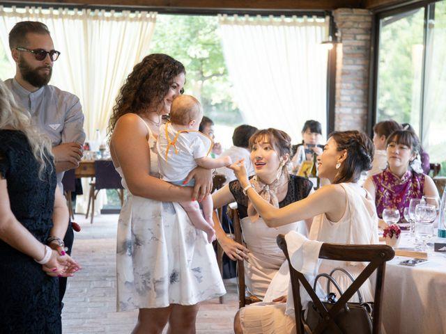 Il matrimonio di Yuriko e Manuel a Castel San Pietro Terme, Bologna 19