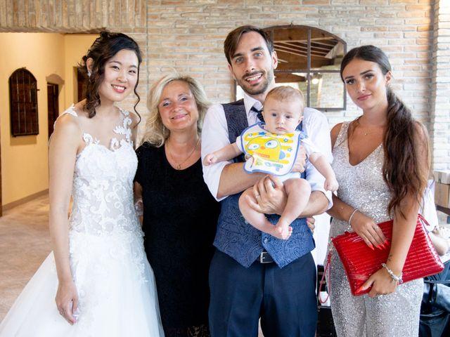 Il matrimonio di Yuriko e Manuel a Castel San Pietro Terme, Bologna 20
