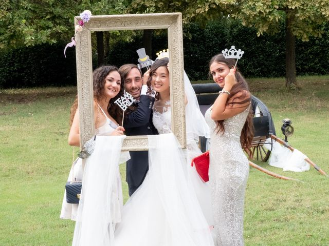 Il matrimonio di Yuriko e Manuel a Castel San Pietro Terme, Bologna 21