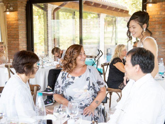 Il matrimonio di Yuriko e Manuel a Castel San Pietro Terme, Bologna 38