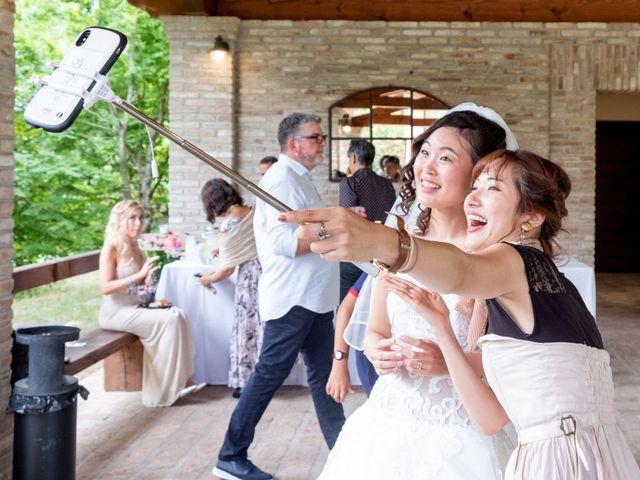 Il matrimonio di Yuriko e Manuel a Castel San Pietro Terme, Bologna 45