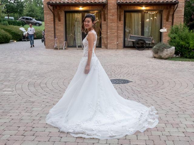 Il matrimonio di Yuriko e Manuel a Castel San Pietro Terme, Bologna 49