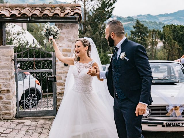 Il matrimonio di Angelo e Martina a Bisenti, Teramo 43