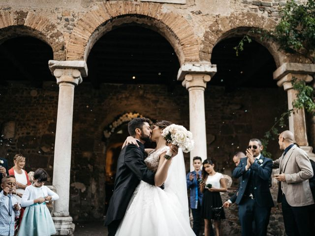 Il matrimonio di Alessandro e Claudia a Bracciano, Roma 42
