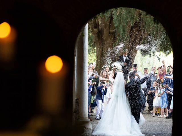 Il matrimonio di Alessandro e Claudia a Bracciano, Roma 43