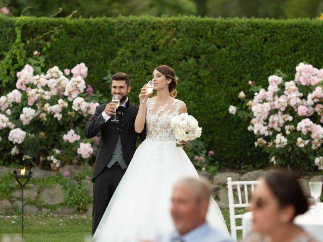 Il matrimonio di Alessandro e Claudia a Bracciano, Roma 61