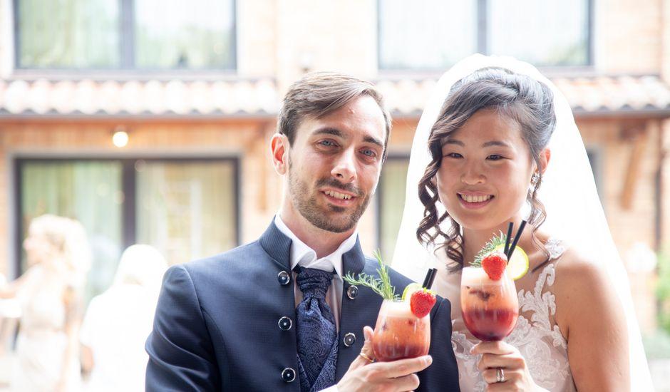 Il matrimonio di Yuriko e Manuel a Castel San Pietro Terme, Bologna