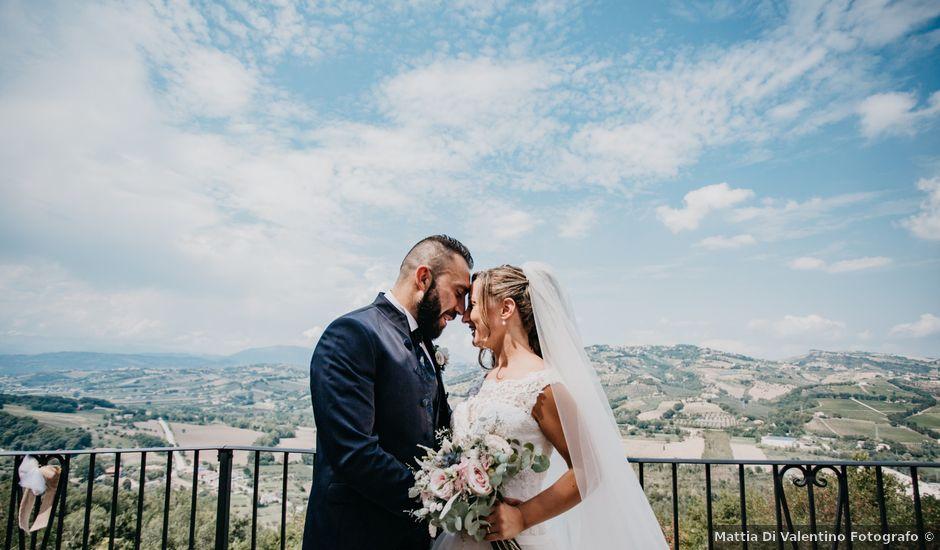 Il matrimonio di Angelo e Martina a Bisenti, Teramo